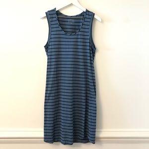 Simply Styled Stripe Tank Dress Large